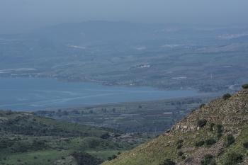 Озеро Кинерет.