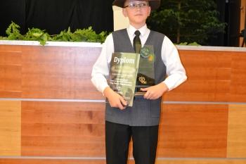 Mikas Mažėtis solistu D kategorija II vieta
