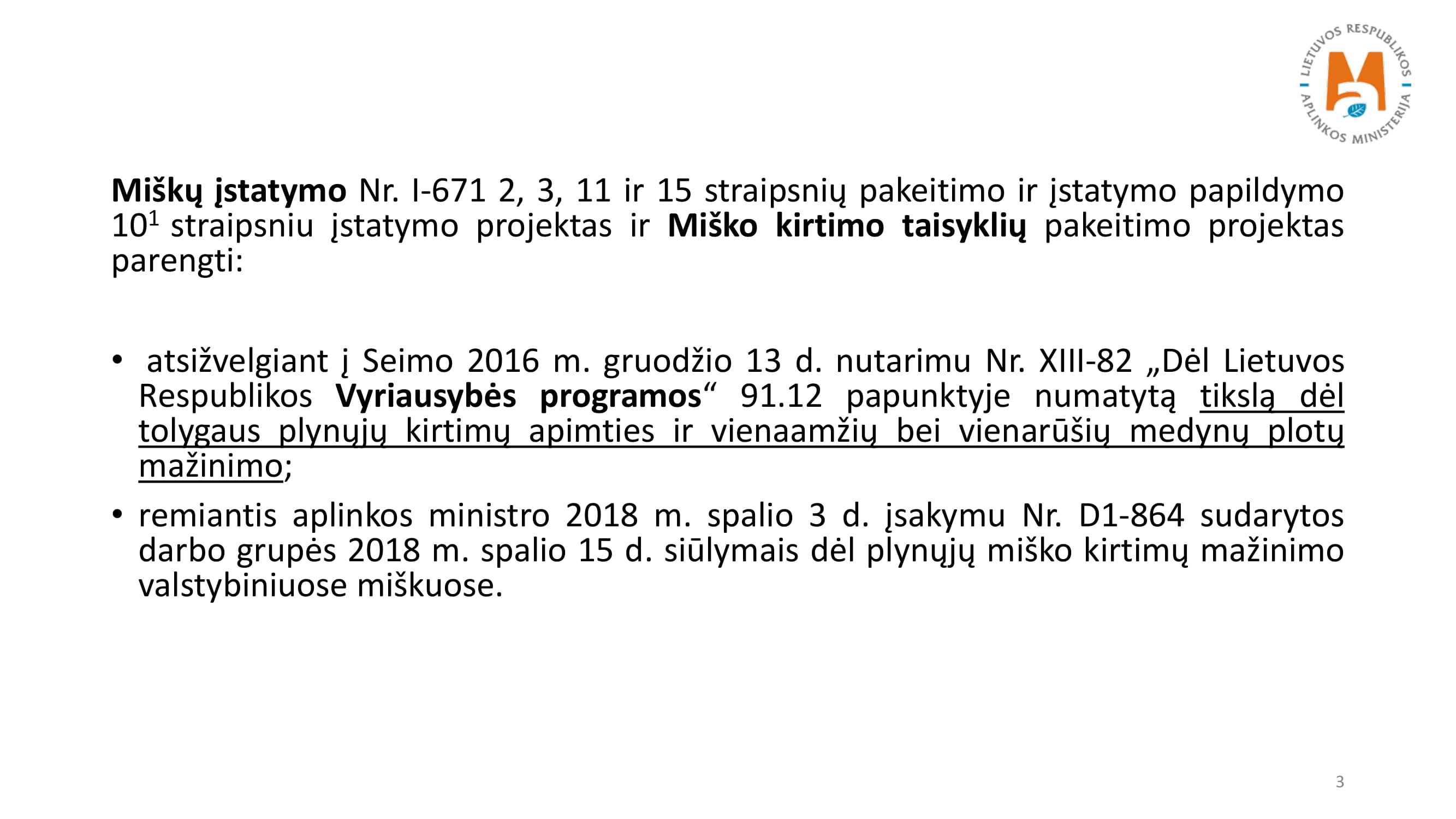 Įstatymo ir kirtimo taisyklių keitimas_NK-03