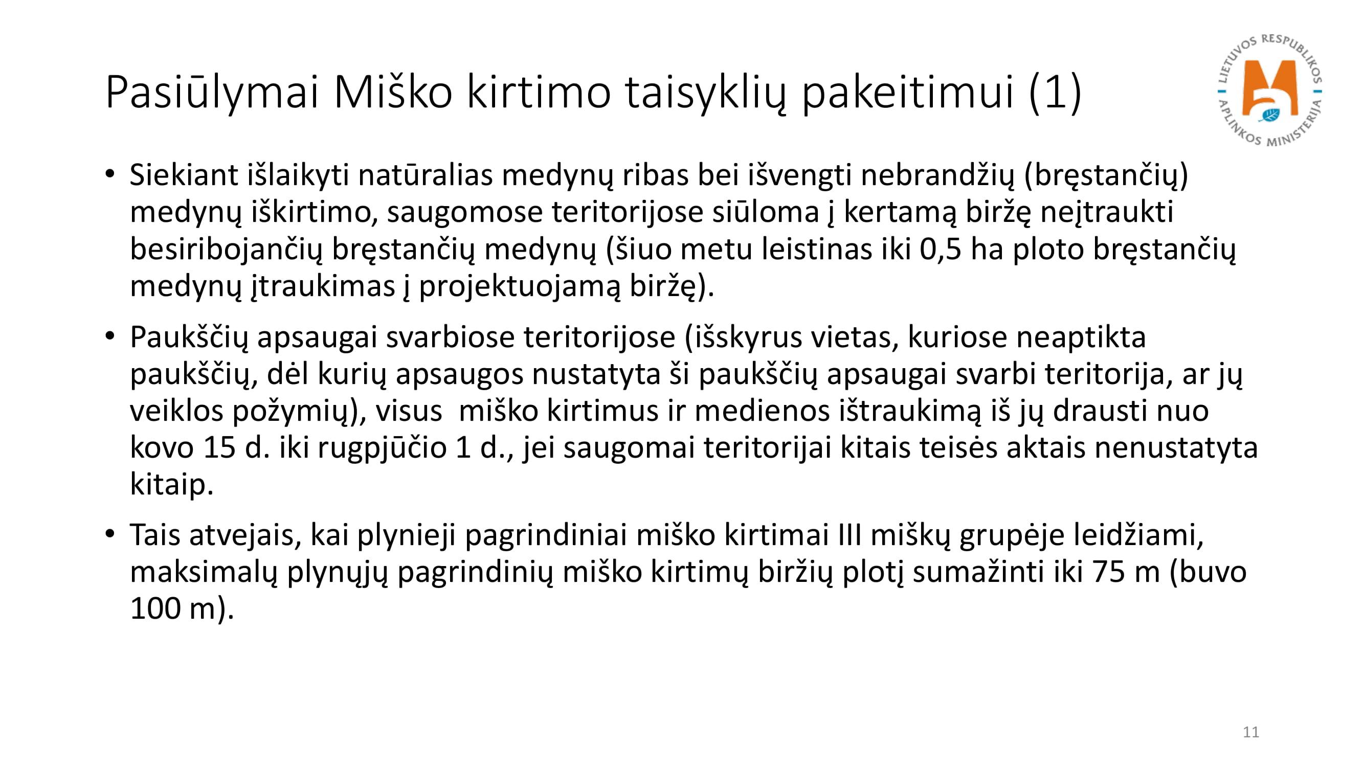 Įstatymo ir kirtimo taisyklių keitimas_NK-11
