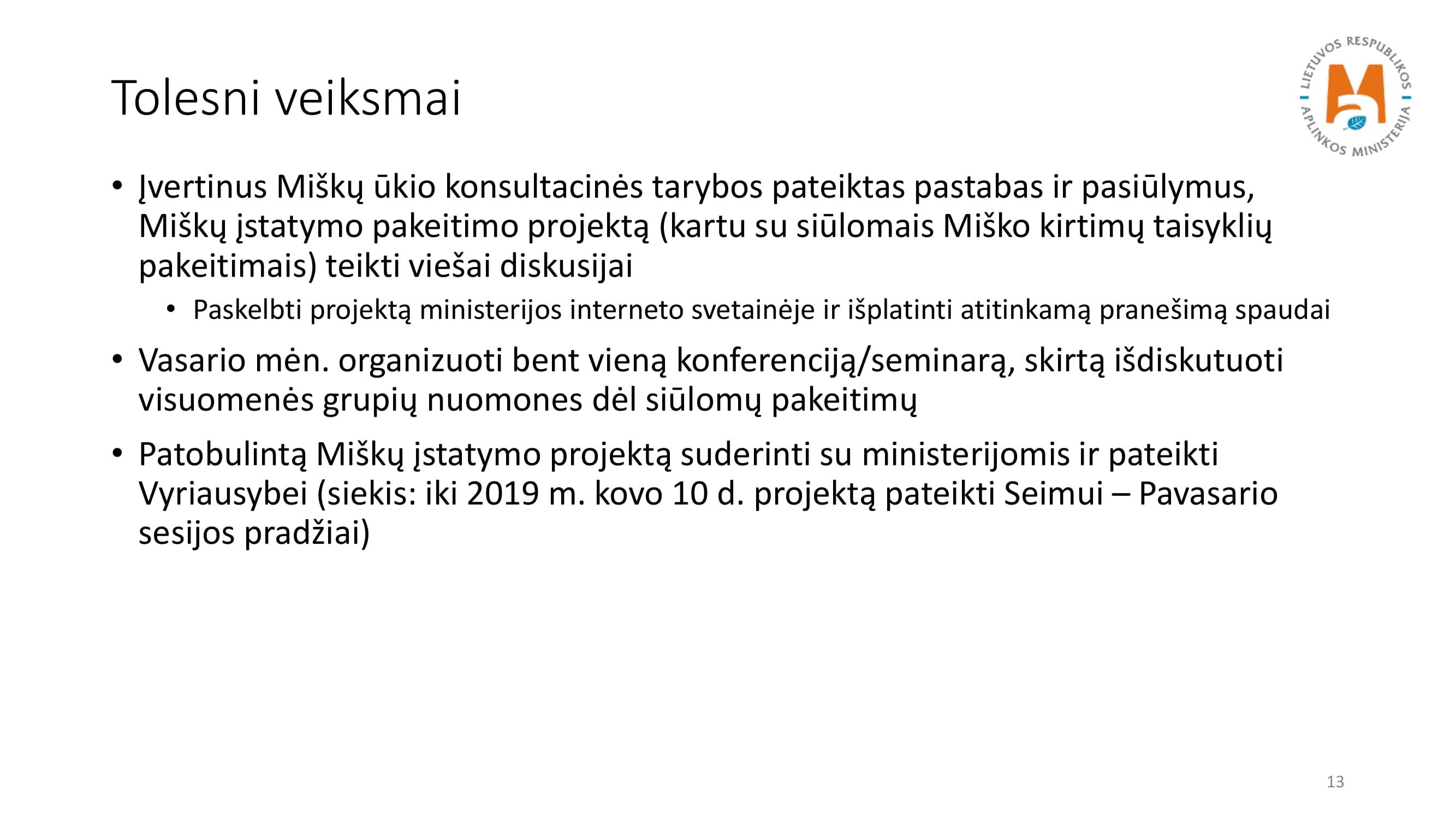 Įstatymo ir kirtimo taisyklių keitimas_NK-13