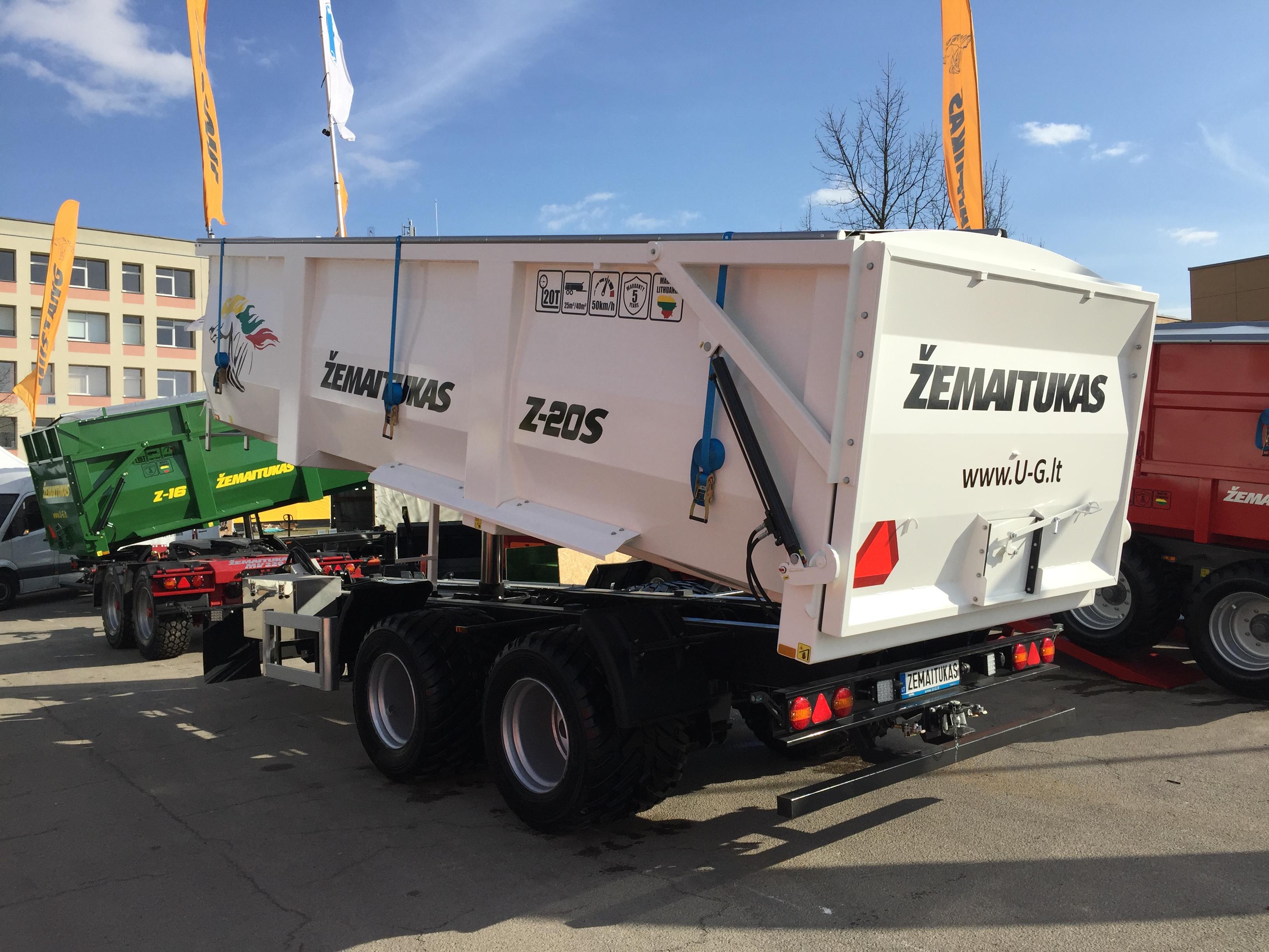 zemaitukas puspriekabe priekaba z-20 mustang trailer semitrailer universe group implemex carrype 5 year warranty  grain trailer grudu priekaba (5)