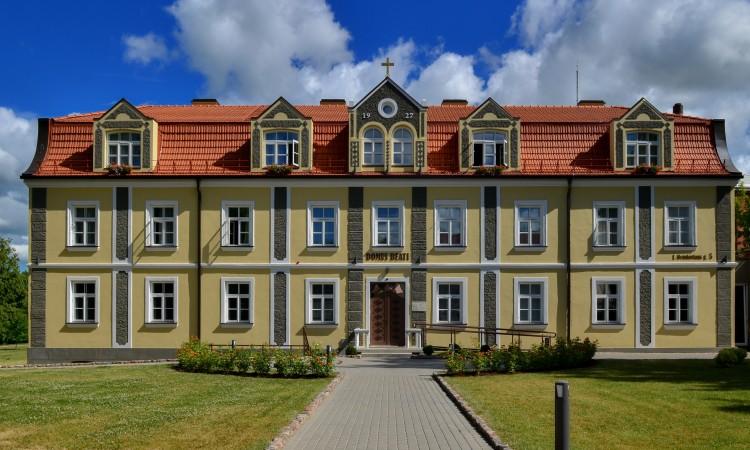 """Marijonų-spaustuvė-ir-biblioteka-dabar-Piligrimų-namai-""""Domus-Beati""""2"""
