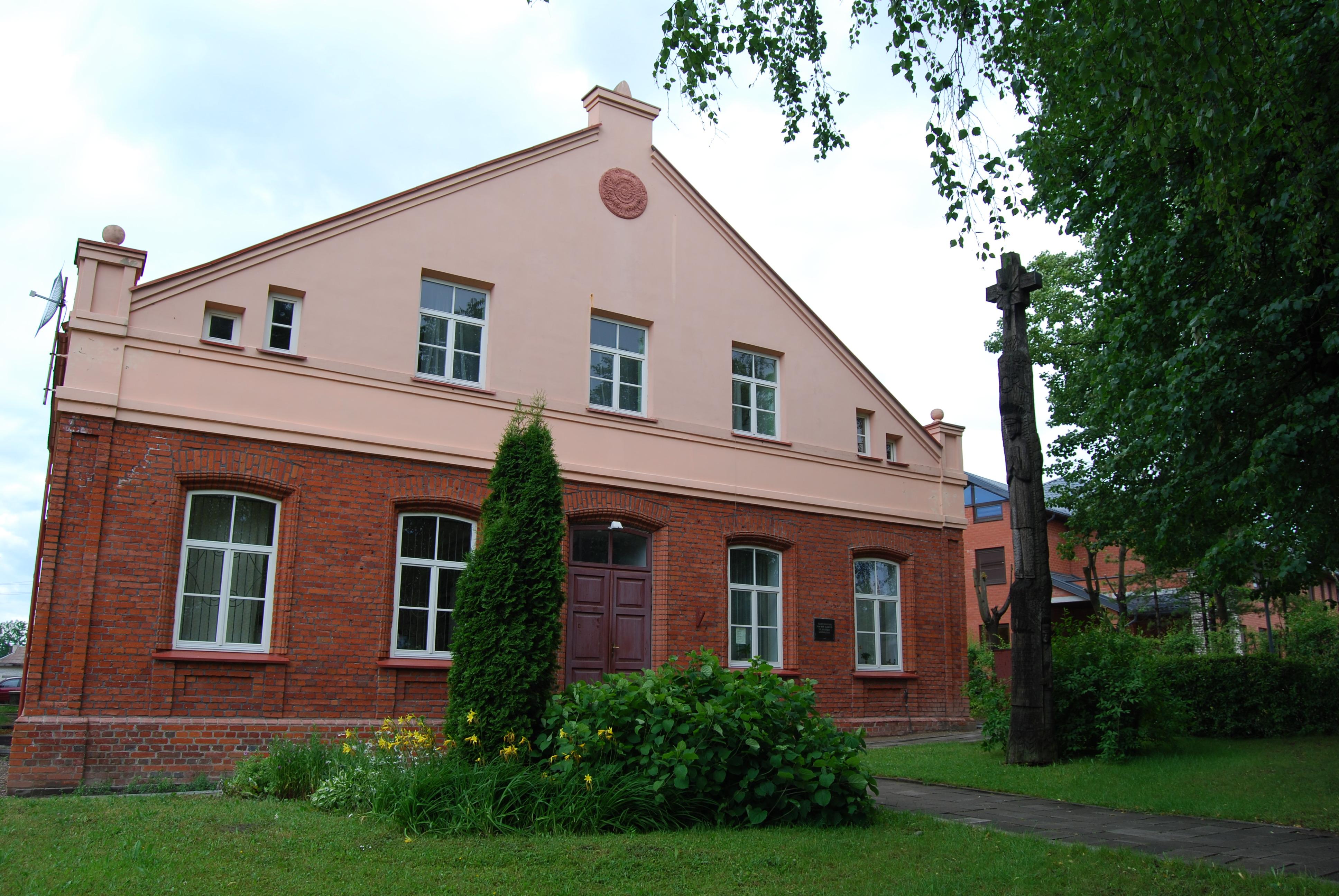 Vilkaviškio biblioteka, buvusi gimnazija