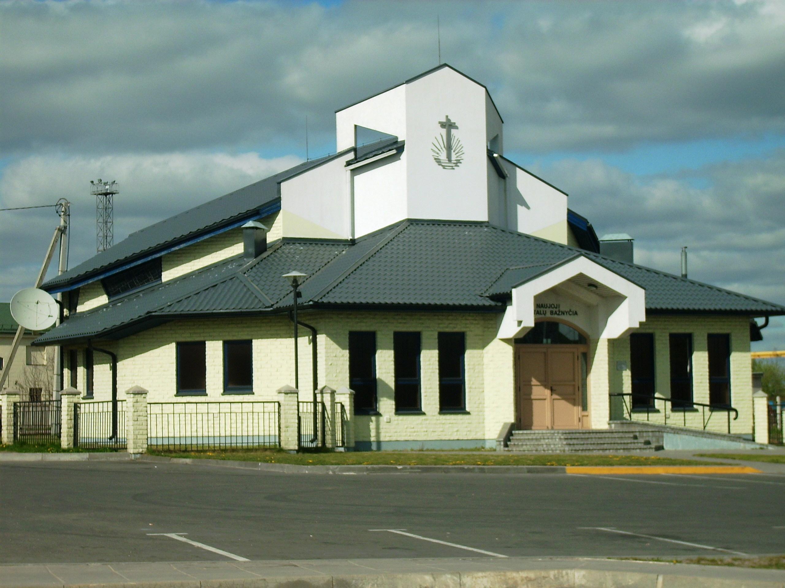 Vilkaviškis Kybartų Naujoji apaštalų bažnyčia