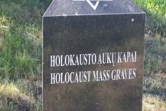 Vilkaviškis Kybartai holokausto auku kapai