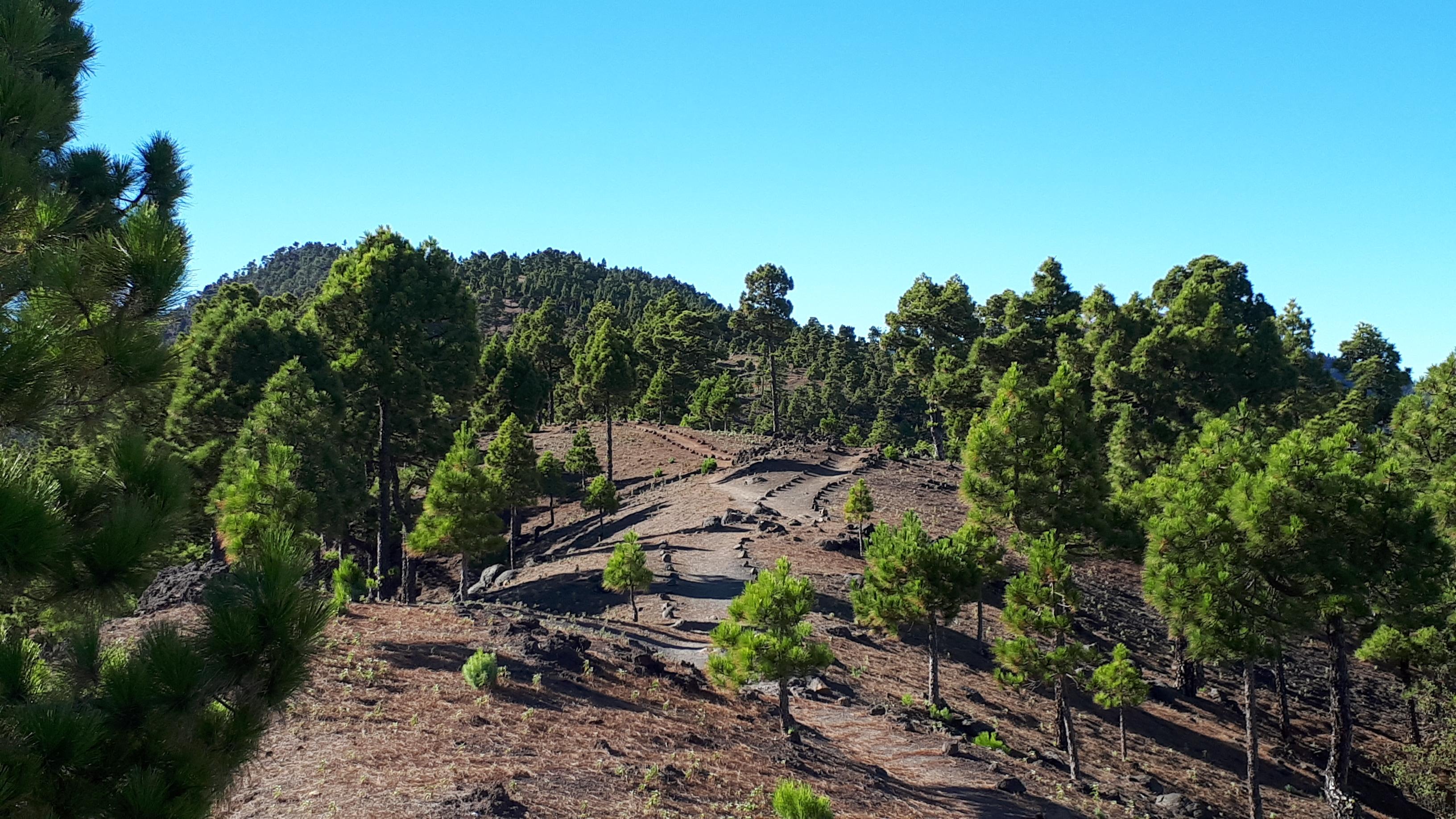 Nacionalinis parkas, kitapus kraterio