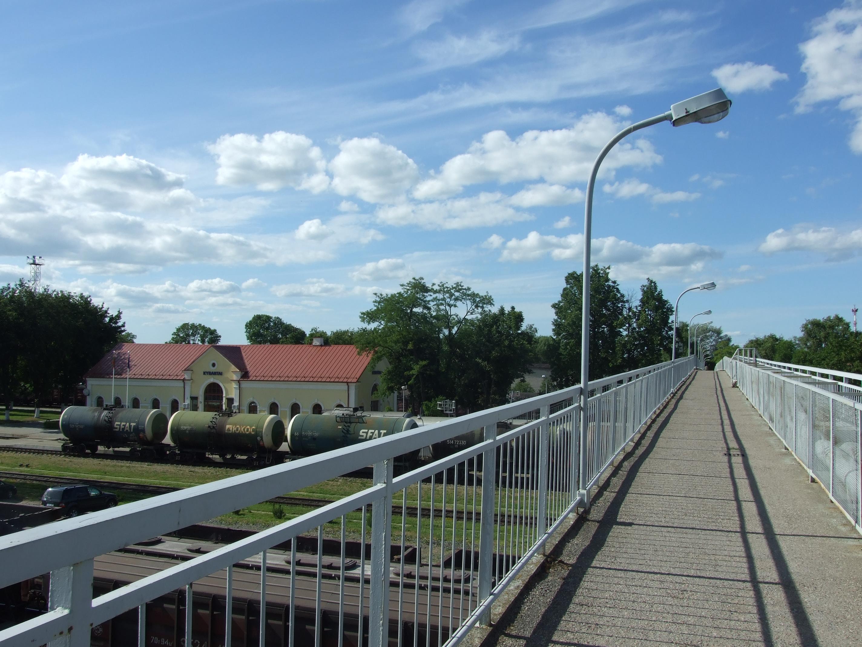 Kybartu gelezinkelio stotis