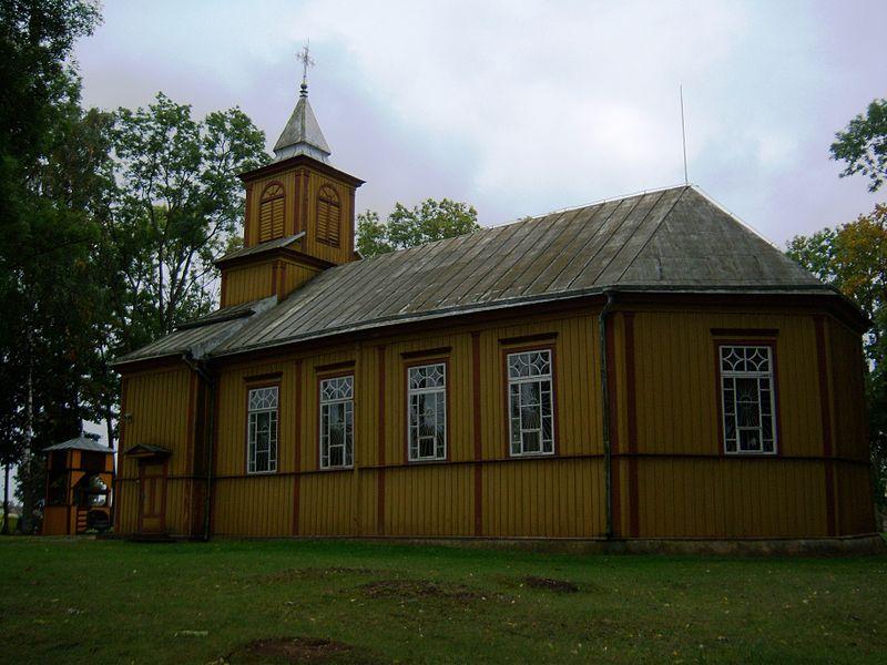 Vilkaviškis Alksnėnų bažnyčia