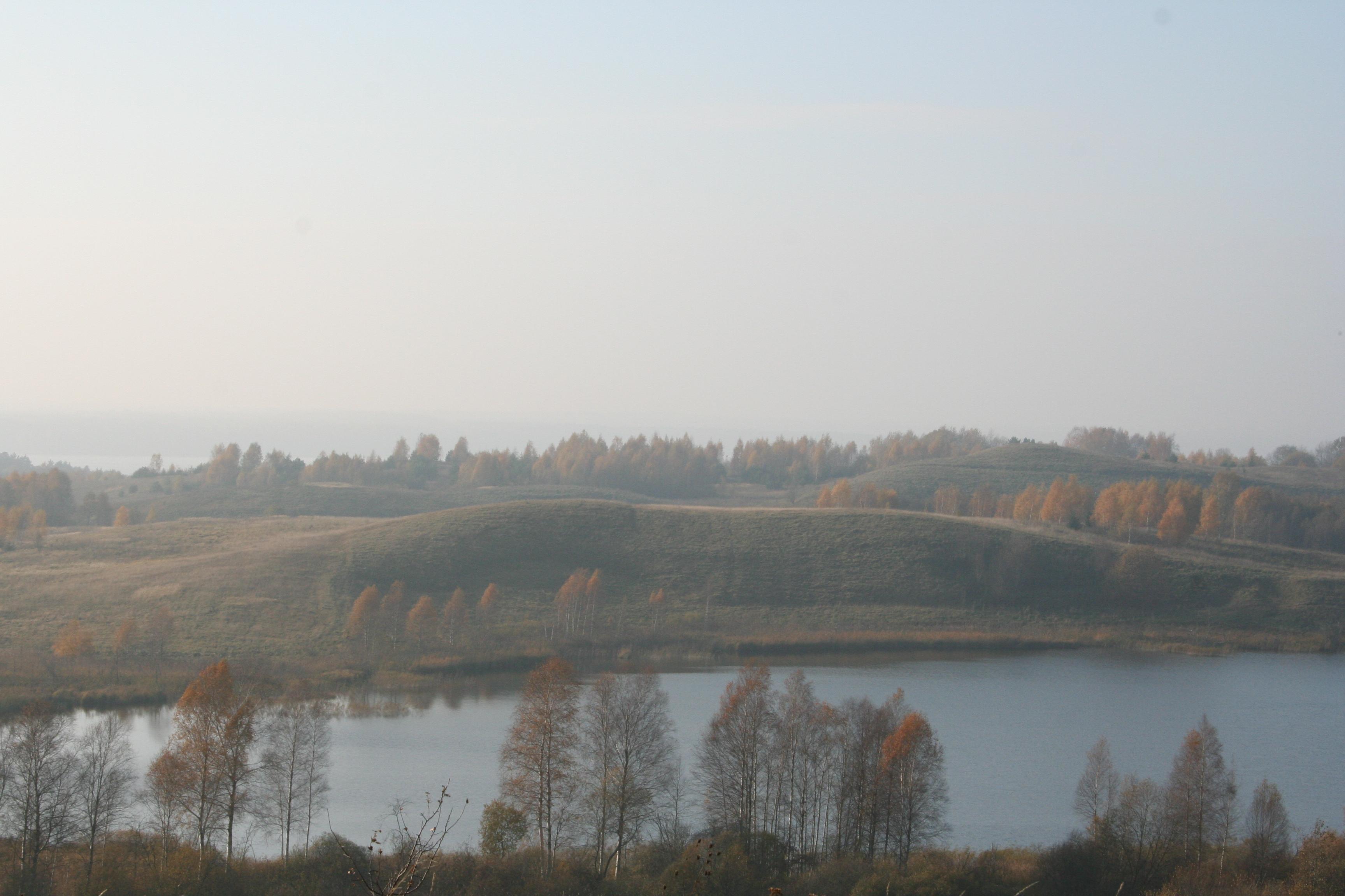 Vilkaviškis Vištyčio regioninis parkas nuo 3 ežerų regyklos