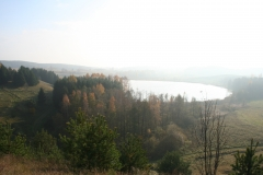 Vilkaviškis Vištyčio regioninis parkas nuo Pavištyčio pilikalnio