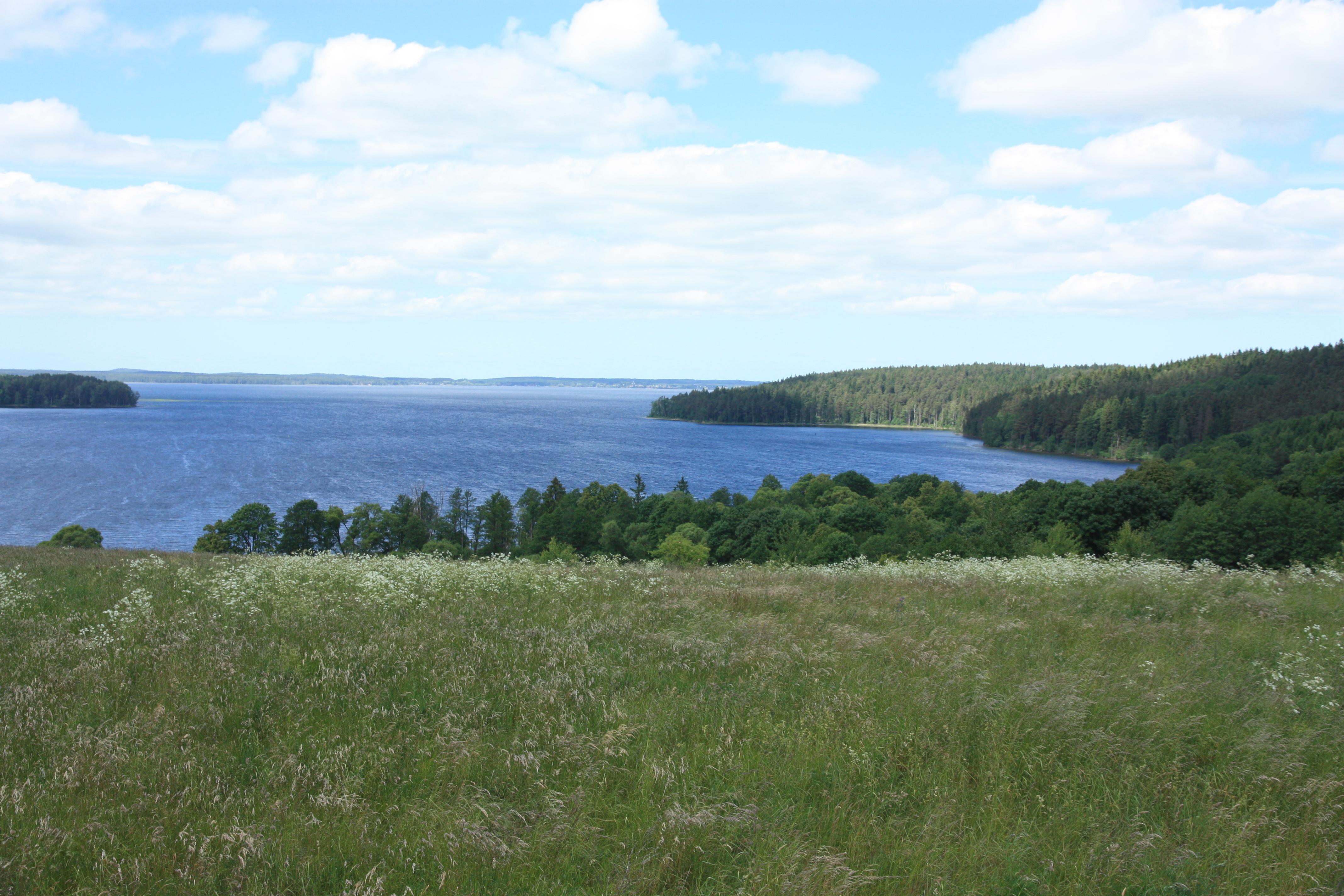Vilkaviškis Vištyčio ežeras iš pietinės pusės