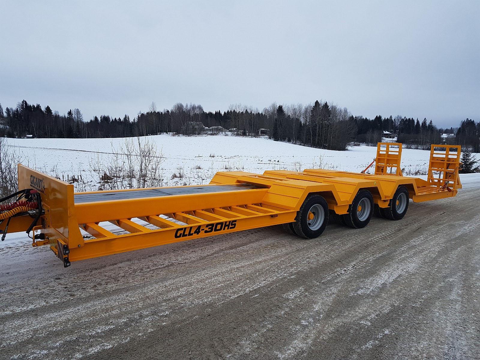 Žemaitukas MUSTANG ML-300 lowbed trailer 3