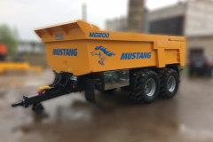 Žemaitukas Universe Group Mustang dumper MD200 trailer for sand Zemaitukas5