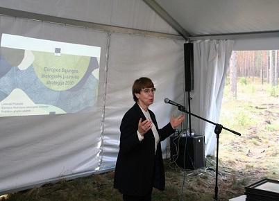 Jaunimo diskusija Panevėžyje apie bendrą atsakomybę biologinės įvairovės išsaugojimui